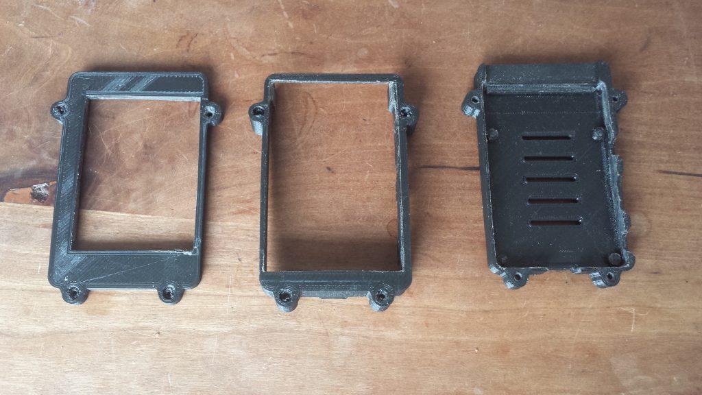 Rpi case onderdelen